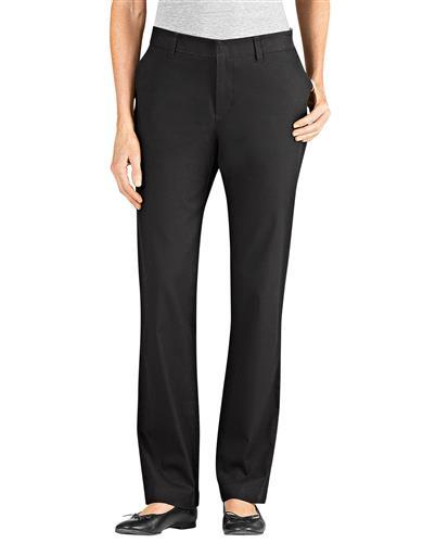 Pantalon Stretch Dama Fp212 Negro 14 Dickies Pantalones Para Uniforme Uniformes Tienda En Mexico