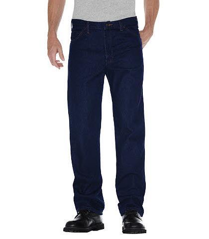 Pantalon De Mezclilla Regular Fit 5 Bolsas 32 Dickies Pantalones De Trabajo Ropa De Trabajo Tienda En Mexico