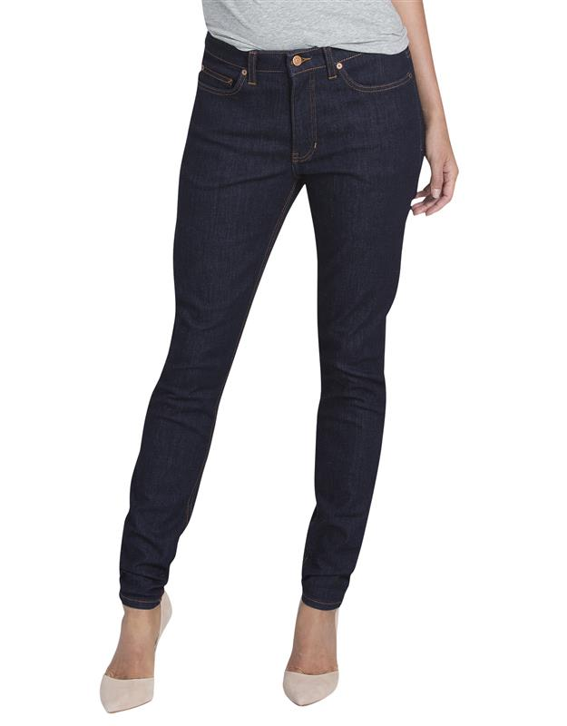 Jeans Dama Stretch Corte Skinny Fd145rnb 14 Dickies Pantalones Para Uniforme Uniformes Tienda En Mexico