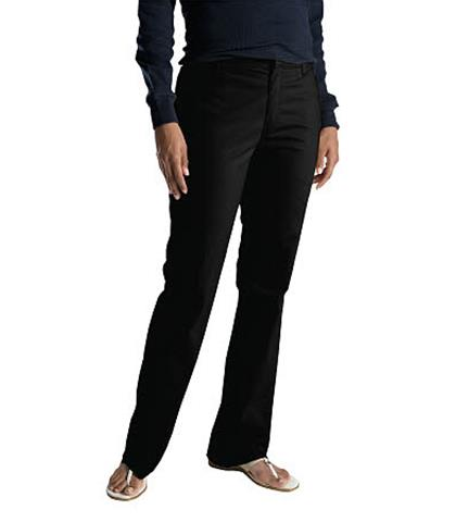 PANTALON STRETCH DAMA FP121 NEGRO 2-DICKIES