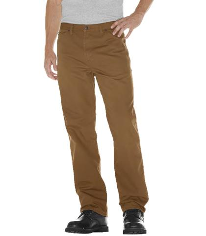 PANTALON DE MEZCLILLA CARPINTERO 100ALG TIMBER (CAFE) 30-DICKIES